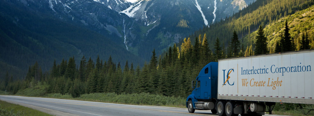 Interlectric Truck in Mountains