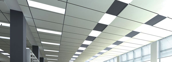 Flat Panel LEDs Interlectric Office Ceiling