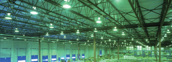 Hi Bays and Low Bays Factory Ceiling LEDs Interlectric